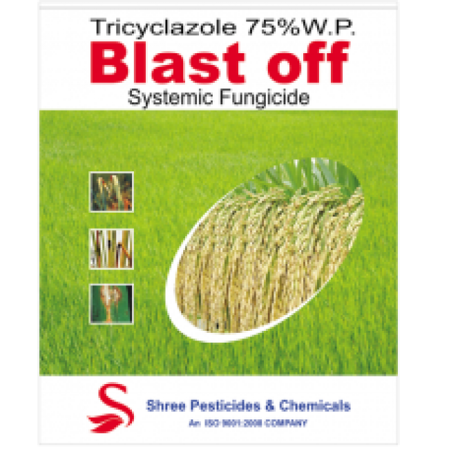Blast Off   Tricyclozole 75%WP   fungicide
